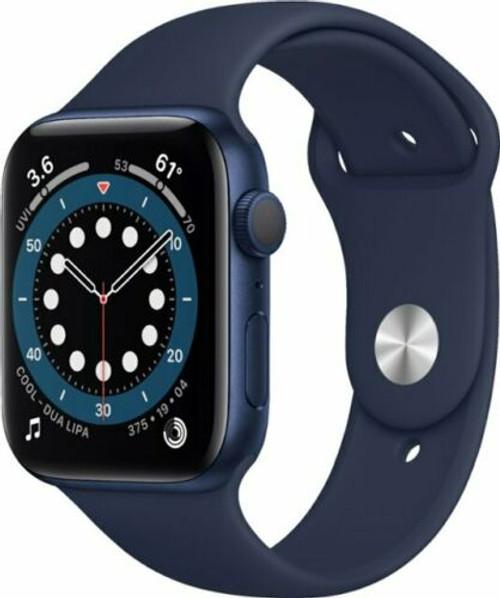 Apple Watch Series 6 GPS 40mm/44mm(Blue) Aluminum, (Deep Navy Sport Band)
