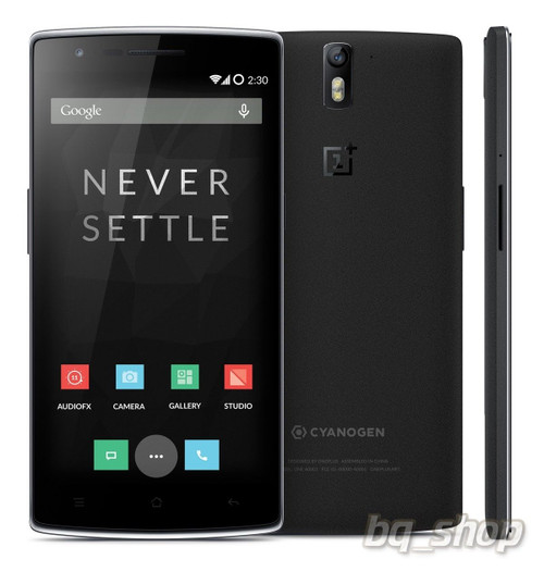 """OnePlus One 64GB Black LTE 5.5"""" QuadCore 2.5GHz 3GB 13MP Android Phone"""