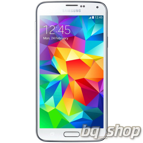 "Samsung Galaxy S5 Mini G800H White Quad Core 4.5""S.AMOLED 16GB Phone"