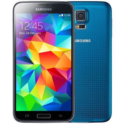 """Samsung Galaxy S5 G900h Blue 5.1"""" 16MP Quad-Core IP67 Android Phone"""
