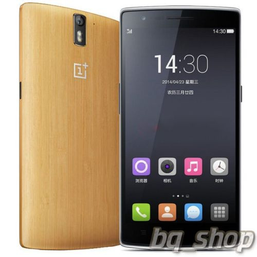 "OnePlus One 64GB Bamboo LTE 5.5"" QuadCore 2.5GHz 3GB 13MP Android Phone"