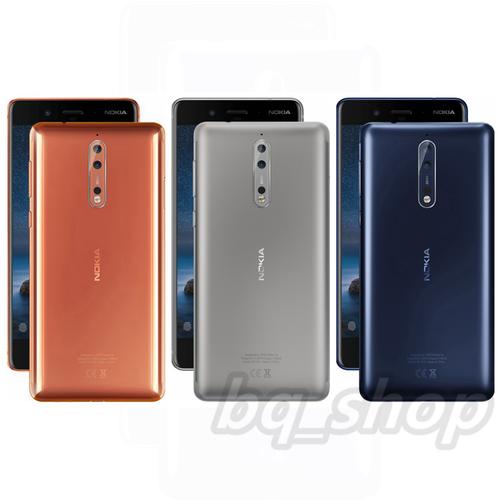 "Nokia 8 Dual SIM 4/64GB 5.3"" Snapdragon 835 IP54 Android"
