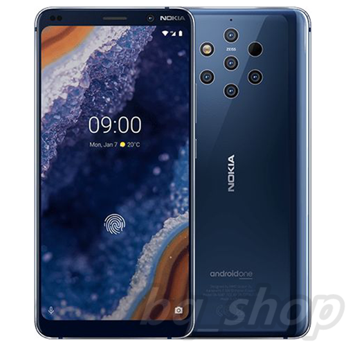 """Nokia 9 PureView 128GB 6GB Blue 5.99"""" 5 cameras Android with Playstore"""