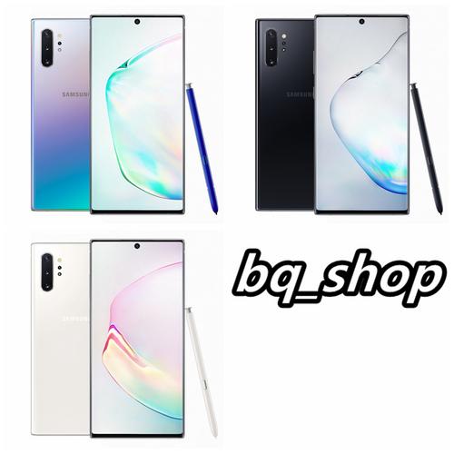 """Samsung Galaxy Note10+ N9750 256GB 12GB Dual Sim 6.8"""" Snapdragon 855 Phone"""