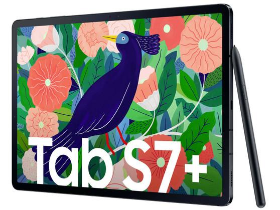 """Samsung Galaxy Tab S7+ T970 8/256GB 10090 mAh Black 12.4 """" Wifi Tablet"""