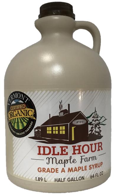 Half Gallon - 100% Pure Vermont Organic Maple Syrup