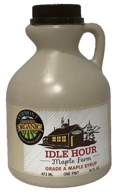 Pint - 100% Pure Vermont Organic Maple Syrup