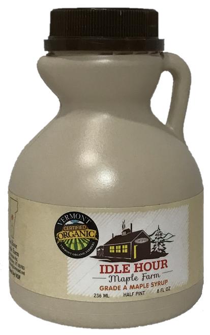 Half Pint - 100% Pure Vermont Organic Maple Syrup