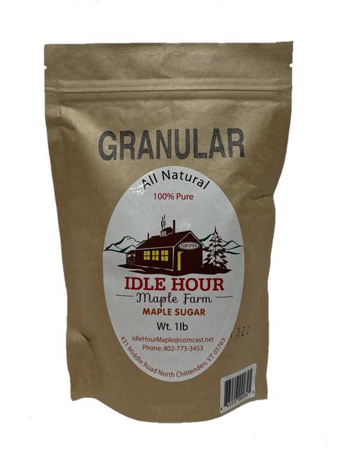 1lb - 100% Pure Granulated Maple Sugar