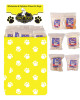 Dump Bin of Assorted Flavored Rawhide Chips 8 ounce bags 50 Pieces