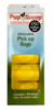 Yellow Pupscoop Poop Bags 10 Pack