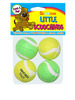 4 Pack Little Scoochinos Puppy Tennis Balls