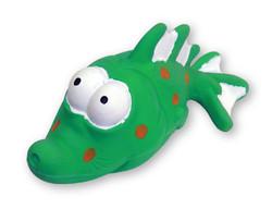 7.25 Inch Premium Latex Bug Eyed Green Fish