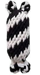 Large Super Scooch Braided Rope Man With Squeaker 9 Inch