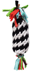 Super Scooch Rope Gummer With Squeaker 11 Inch