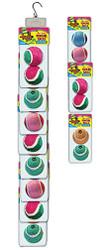 Clip Strip of 2 Pack Tennis Balls 8 Per Clip Strip