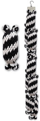 Clip Strip of Small Super Scooch Rope Squeaker Men 9 Per Clip Strip