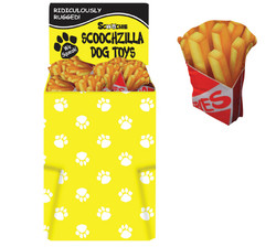 Dump Bin of Scoochzilla Doggie Fries 60 Pieces