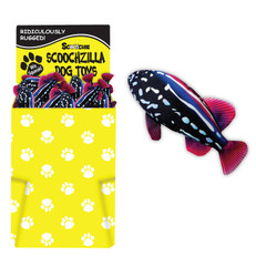 Dump Bin of 18 inch Scoochzilla Groupers 48 per display