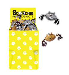 Dump Bin of Scoochie Marc Mouse and Cathy Cats 60 Pieces