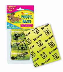 Scoochie Poop 3 Pack Poop Bags In Bag and Header