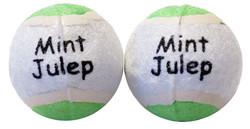 2 Pack Mint Tennis Balls Scoochie Poochie Brand