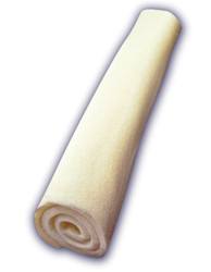 9 Inch White Retriever Stick With Band and UPC