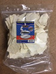 1.5 Pound Plain Rawhide Chips
