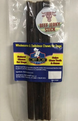 12 Inch Rolled Esophagus Jerky 4 Pack (Bully Alternative)