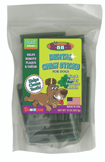 10 Ounce Mr. Scooch Mint Dental Chews Small