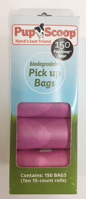 Pink Pupscoop Poop Bags 10 Pack