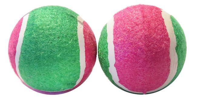 2 Pack Tennis Balls  Scoochie Poochie Brand