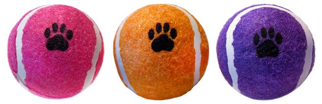 2.5 Inch Tennis Ball Bulk With UPC