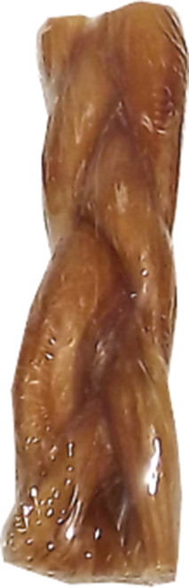 6 Inch Braided Bully Stick With UPC