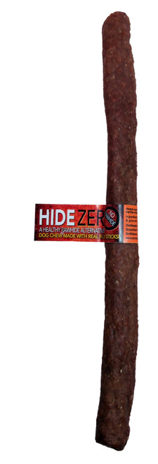 Hide Zero 10 Inch Bulk With Cigar Band Bully Flavored Rawhide Alternative