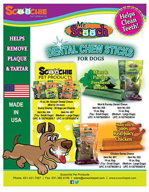 Mr. Scooch Dental Chews