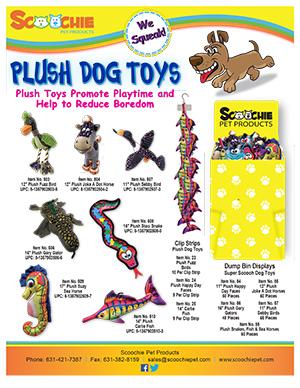 Scoochie Plush Toys