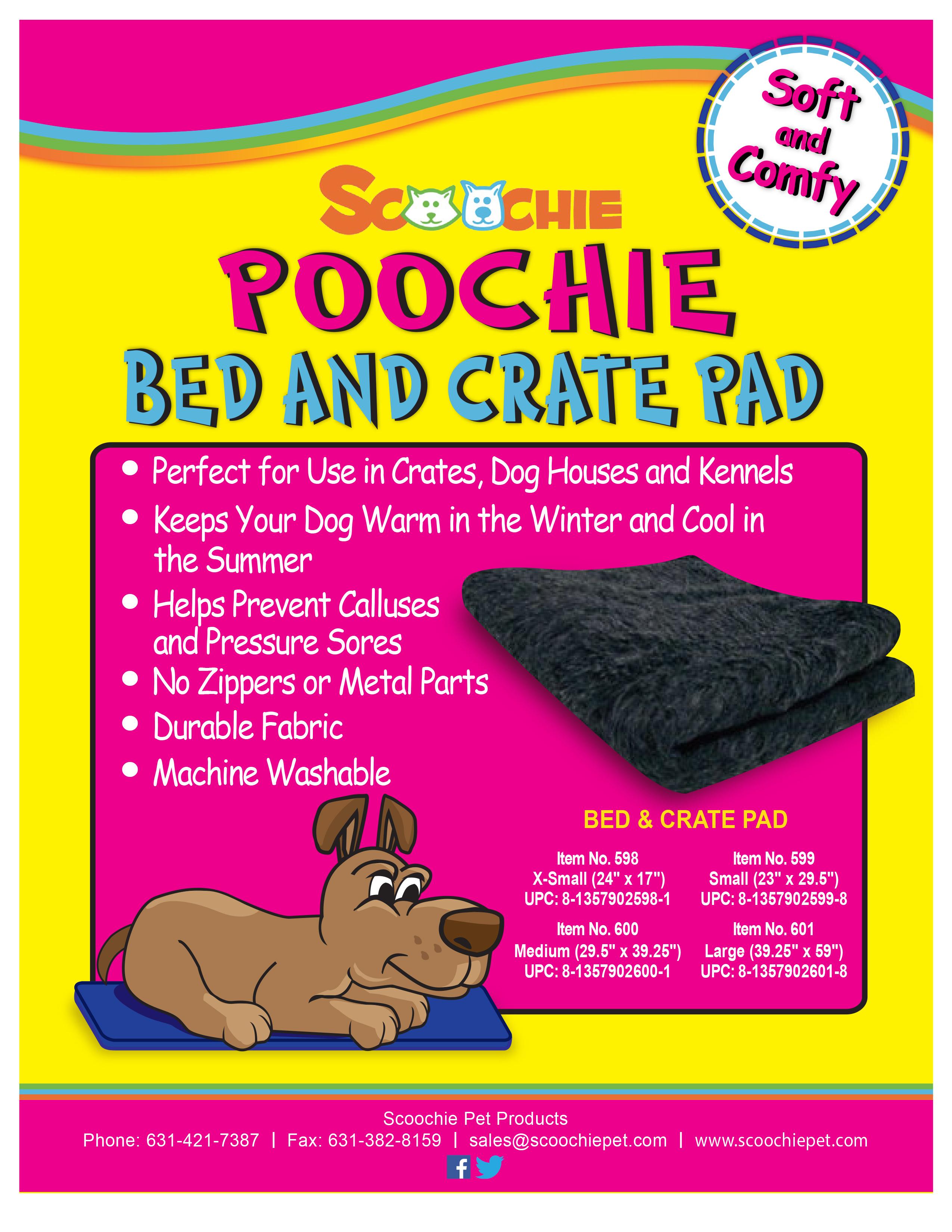Scoochie Poochie Pet Bed