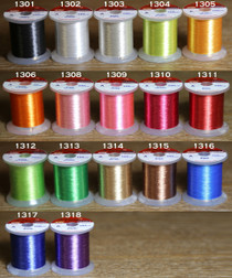 Rod building tying thread size A NEW!! Multicolour Yellow//green