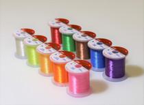 stwrap Rod emballage Thread-Metallic Aurora 8 Color Pack Hitena