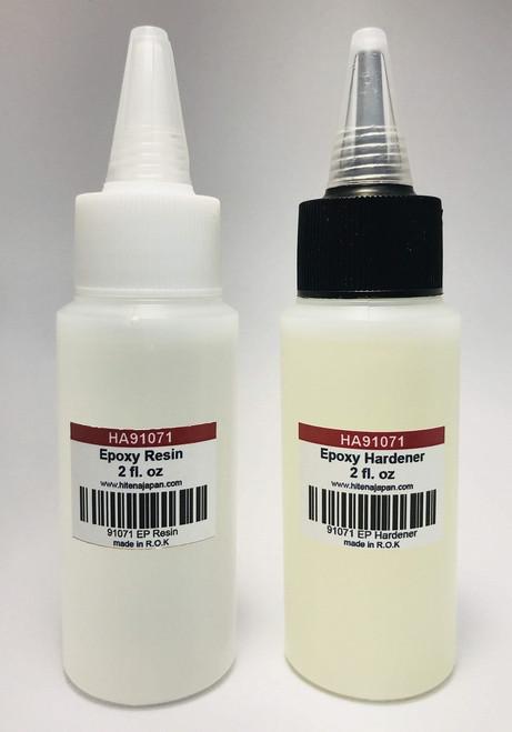 Epoxy Resin & Hardener (4 oz) - Non-Cracking Formula