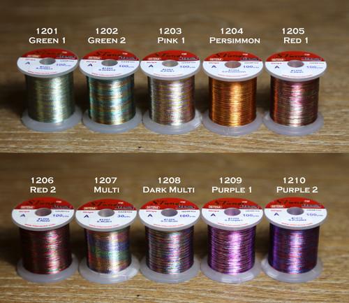 STWRAP Rod Wrapping Thread - Metallic Stripe