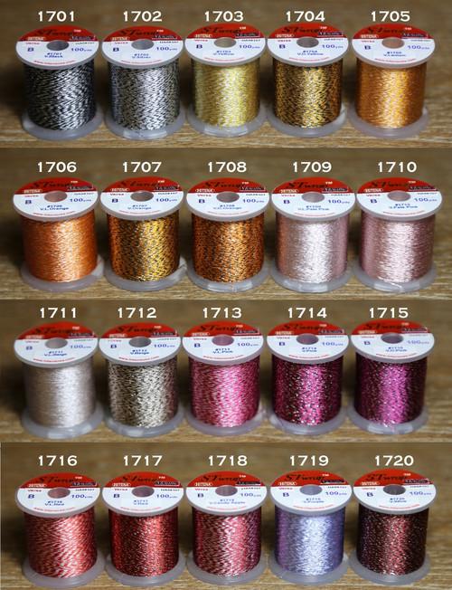 STWRAP Rod Wrapping Thread - Metallic Versa