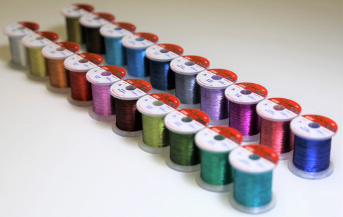 STWRAP Rod Wrapping Thread - Metallic Vivid 20 Color 100yd Pack  (20% off will be applied at check-out)