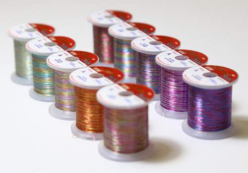 STWRAP Rod Wrapping Thread - Metallic Stripe 10 Color Pack (20% off will be applied at check-out)