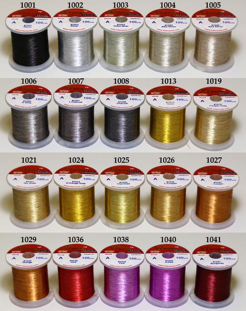 STWRAP Rod Wrapping Thread - Metallic Vivid