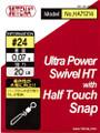 Half Touch Snap Swivel