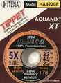 Aquanix - 100% Fluorocarbon Fly Tippet (33yd)