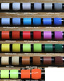 STWRAP Rod Wrapping Thread - NCP (No Color Preserver) 17 Color 100yd Complete Pack (20% off will be applied at check-out)