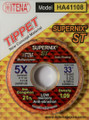 Supernix - Multi-polymer Fly Tippet For Dry Flies (33yd)